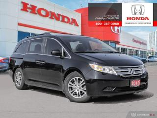 Used 2013 Honda Odyssey EX-L REARVIEW CAMERA WITH GUIDELINES | POWER SUNROOF | BLUETOOTH for sale in Cambridge, ON