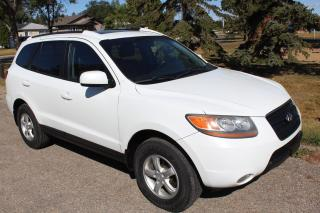 Used 2008 Hyundai Santa Fe Limited LOW KM LEATHER SUNROOF for sale in Regina, SK