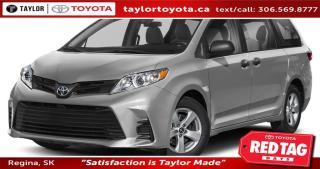 New 2020 Toyota Sienna XLE 7-Passenger for sale in Regina, SK