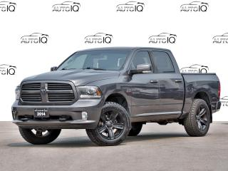 Used 2014 RAM 1500 Sport SPORT 4X4! NAVIGATION! CREW CAB! for sale in Hamilton, ON