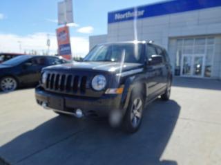 Used 2017 Jeep Patriot HIGHALTITUDE/NAV/LEATHER/SUNROOF/HEATEDSEATS for sale in Edmonton, AB