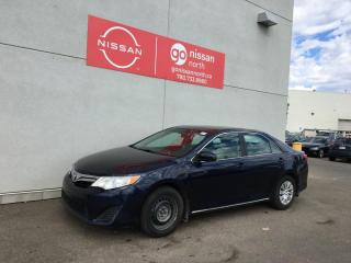 Used 2014 Toyota Camry LE 4dr FWD Sedan for sale in Edmonton, AB