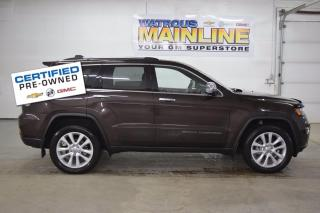 Used 2017 Jeep Grand Cherokee Limited for sale in Watrous, SK