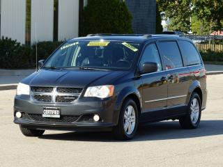 Used 2011 Dodge Grand Caravan LEATHER,CREW PLUS,NAVIGATION,REAR-CAM,TOP OF LINE, for sale in Mississauga, ON
