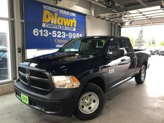 Used 2018 RAM 1500 Tradesman Quad Cab 4X4 | Backup Camera & Bluetooth for sale in Nepean, ON