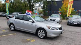 Used 2009 Honda Accord EX-L for sale in Mississauga, ON
