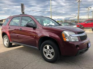 Used 2008 Chevrolet Equinox LS, LOW KMS, ACCIDENT FREE, 3 YR WARRANTY, CERTIFY for sale in Woodbridge, ON