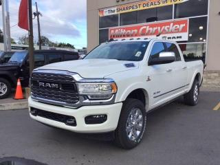 New 2020 RAM 2500 LIMITED CREW 4X4 / CUMMINS / ROOF /. SAFETY GRP for sale in Milton, ON