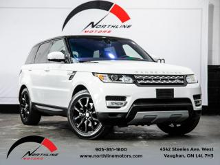 Used 2017 Land Rover Range Rover Sport Td6 HSE|Navigation|Pano Roof|Camera|Heated Leather for sale in Vaughan, ON
