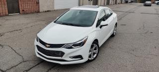 Used 2016 Chevrolet Cruze PREMIER | NAVI | SUNROOF | BU CAM for sale in Burlington, ON