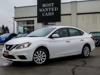 Used 2017 Nissan Sentra S|MULTIFUNCTION STEERING WHEEL|BLUETOOTH|AUTO LIGHTS for sale in Kitchener, ON