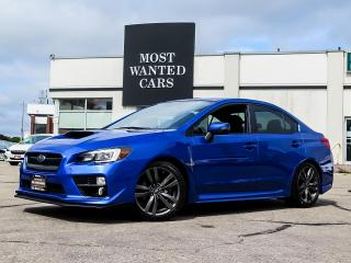 Used 2017 Subaru WRX LIMITED|SPORT PKG|NAV|HK PREMIUM|AWD|DUAL EXHAUST|BLIND for sale in Kitchener, ON
