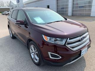 Used 2017 Ford Edge Titanium for sale in Harriston, ON