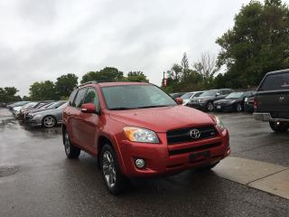 Used 2010 Toyota RAV4 Sport. Leather! Sunroof. Excellent condition for sale in London, ON