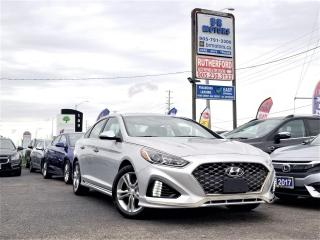 Used 2019 Hyundai Sonata No Accidents|Sport Pkg| 2.4L |Rev cam| Roof for sale in Brampton, ON