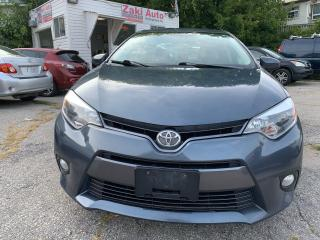 Used 2015 Toyota Corolla Sunroof AlloyWheels Backup Camera LE for sale in Toronto, ON