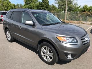 Used 2012 Hyundai Santa Fe Limited  ** AWD, NAV, BACK CAM, HTD LEATH ** for sale in St Catharines, ON