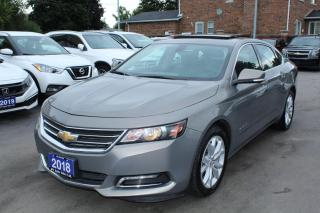 Used 2018 Chevrolet Impala LT for sale in Brampton, ON