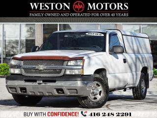 Used 2004 Chevrolet Silverado 1500 REG CAB*LONG BOX*BOX CAP*SOLD AS IS!!* for sale in Toronto, ON