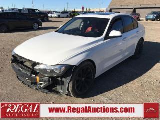 Used 2016 BMW 3 Series 320I Xdrive 4D Sedan AWD 2.0L for sale in Calgary, AB