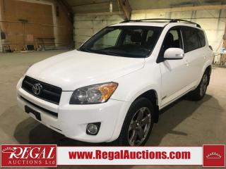 Used 2009 Toyota RAV4 Sport 4D Utility 4WD for sale in Calgary, AB