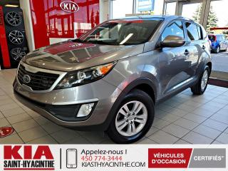 Used 2012 Kia Sportage LX ** SIÈGES CHAUFFANTS / BLUETOOTH for sale in St-Hyacinthe, QC