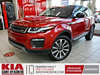 Used 2016 Land Rover Evoque HSE Si4 ** NAVI / CUIR / TOIT for sale in St-Hyacinthe, QC