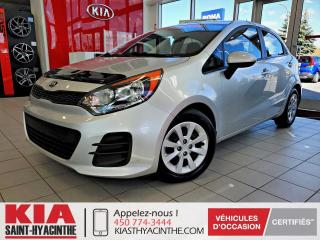 Used 2016 Kia Rio 5 LX+ ** GR ÉLECTRIQUE + A/C for sale in St-Hyacinthe, QC