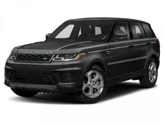 New 2020 Land Rover Range Rover Sport HSE Dynamic for sale in Winnipeg, MB