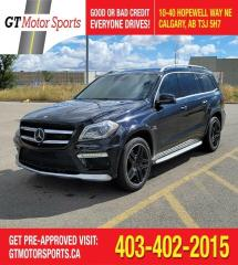 Used 2016 Mercedes-Benz GL-Class AMG GL 63 | $0 DOWN - EVERYONE APPROVED! for sale in Calgary, AB