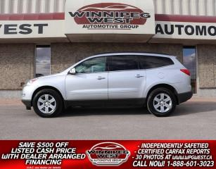 Used 2012 Chevrolet Traverse LT2 HTD LEATHER, 7 PASS, TWIN SUNROOFS, LIKE NEW!! for sale in Headingley, MB
