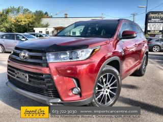 Used 2018 Toyota Highlander XLE SE PACKAGE!!! LEAHTER  ROOF  NAVI  BLIS for sale in Ottawa, ON
