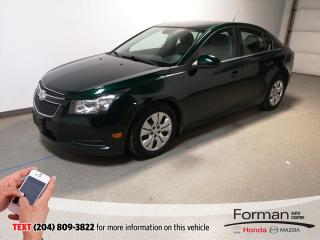 Used 2014 Chevrolet Cruze 1LT|Warranty-Just Arrived| for sale in Brandon, MB