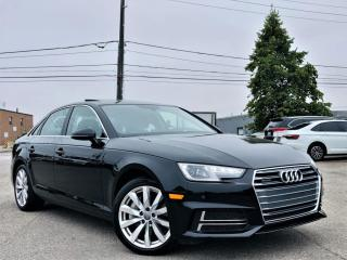 Used 2019 Audi A4 |QUATTRO|SUN ROOF|HEATED MEMORY SEATS|REAR VIEW CAMERA! for sale in Brampton, ON