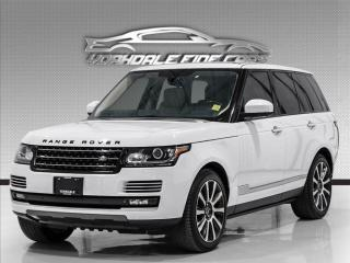 Used 2014 Land Rover Range Rover 4WD 4dr SC Autobiography, DVD, Nav, PanRoof, Massage Seats for sale in Concord, ON