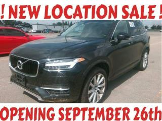 Used 2018 Volvo XC90 T5 Momentum, 20' Rims, 7 Pass, Navi, Cam, PanRoof, BlindSpot for sale in North York, ON