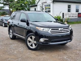 Used 2011 Toyota Highlander NoAccidents Sunroof Leather 4WD BackupCam 7 PASS for sale in Sutton, ON