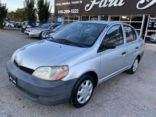 Used 2002 Toyota Echo 4 Dr STD Sedan for sale in Scarborough, ON