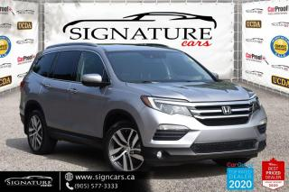 Used 2017 Honda Pilot 4WD.Touring CLEAN CARFAX ONE OWNER NEW TIRES AND BRAKES for sale in Mississauga, ON