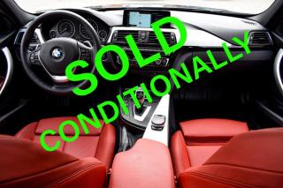 Used 2017 BMW 3 Series 330i xDrive Sedan. RED INT. NO ACCIDENT. ONE OWNER. LOW KMS. for sale in Mississauga, ON
