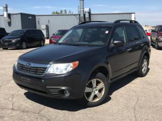 Used 2009 Subaru Forester 4dr Man X for sale in North York, ON