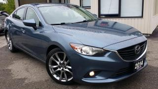 Used 2014 Mazda MAZDA6 GT - LEATHER! NAV! BACK-UP CAM! BSM! for sale in Kitchener, ON