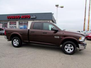 Used 2015 RAM 1500 Outdoorsman Quad Cab 4WD Bluetooth Camera Certified for sale in Milton, ON