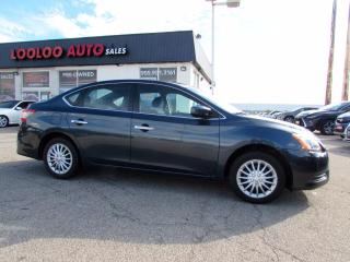 Used 2014 Nissan Sentra S AUTOMATIC BLUETOOTH PUSH TO START CERTIFIED for sale in Milton, ON