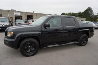 Used 2006 Honda Ridgeline EX-L 4WD CERTIFIED 2YR WARRANTY SUNROOF HEATED LEATHER ALLOYS AUX for sale in Milton, ON