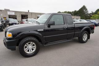 Used 2009 Ford Ranger V6 4x4 OFF-ROAD FX4 CERTIFIED 2YR WARRANTY CRUISE ALLOYS BED COVER AUX for sale in Milton, ON