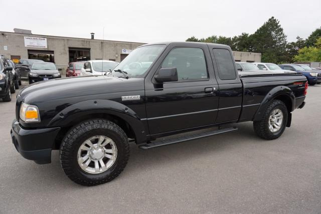 2009 Ford Ranger V6 4x4 OFF-ROAD FX4 CERTIFIED 2YR WARRANTY CRUISE ALLOYS BED COVER AUX