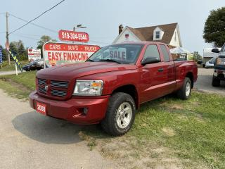 Used 2008 Dodge Dakota SXT Ext. Cab 2WD Low K's.Fully certified,call/text 519 732 7478. for sale in Brantford, ON