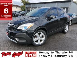 Used 2016 Buick Encore New Tires | Pwr Seat | B/Up Cam | Bluetooth for sale in St Catharines, ON