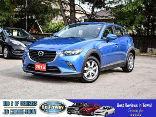 Used 2016 Mazda CX-3 GX | NAVIGATION |AWD |BACKUP CAM |BLURTOOOTH for sale in Stoney Creek, ON